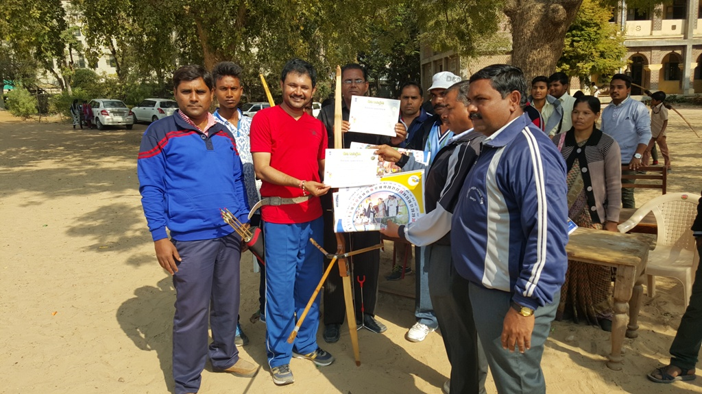 Archery Competition 1st Rank